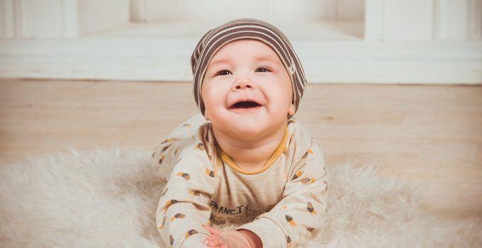 O bebê de 9 meses