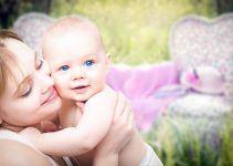 O bebê de 5 meses